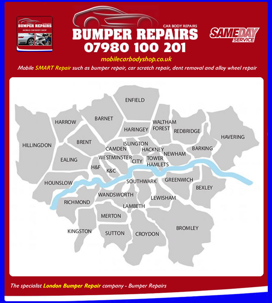 bumper repair london